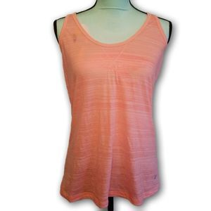 """Old Navy Active """"Burn Out Easy"""" Tank Top Orange SP"""